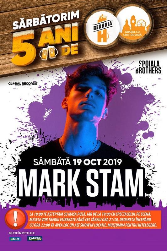 Mark Stam la Berăria H