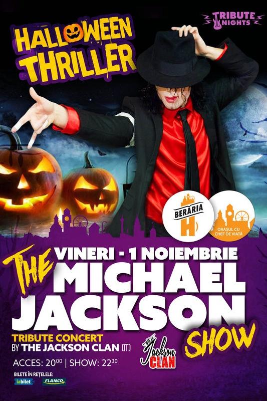 Michael Jackson - Thriller - Halloween Special la Berăria H
