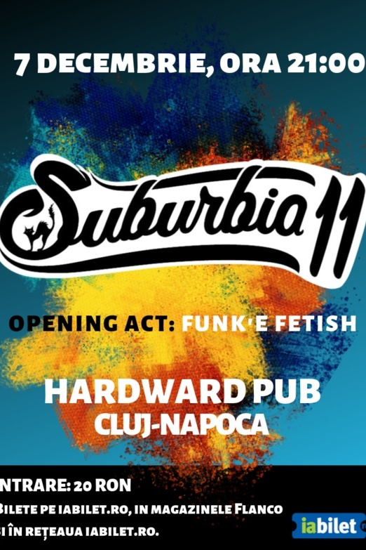 Suburbia11 la Hardward Pub (Cluj-Napoca)