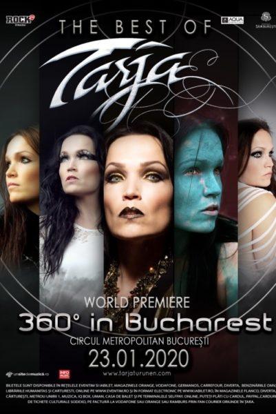 Poster eveniment Tarja Turunen - 360 Degrees. The best of Tarja