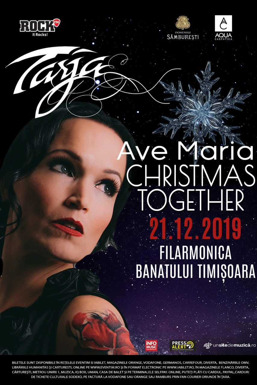 Tarja Turunen la Filarmonica Banatul din Timișoara
