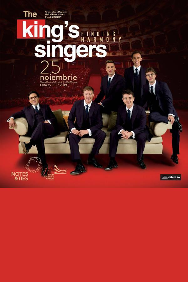 The King's Singers la Opera Națională Română Cluj-Napoca