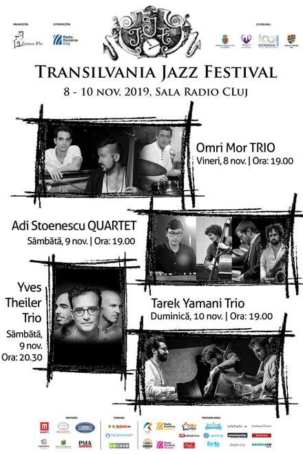 Transilvania Jazz Festival 2019 la Sala Radio din Cluj Napoca