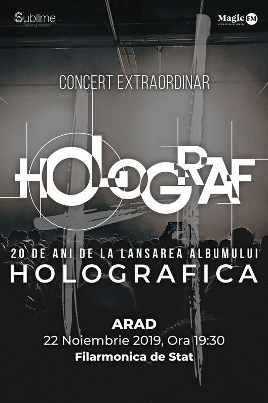 Turneu Holograf - 20 de ani de la lansarea albumului