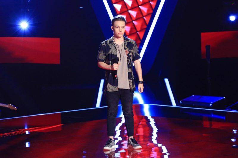 Andi Țolea (audiții pe nevăzute Vocea României 2019)
