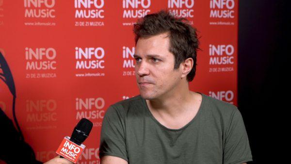 Dan Byron în redacția InfoMusic