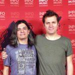 Dan Byron și Sergiu Mitrofan în redacția InfoMusic
