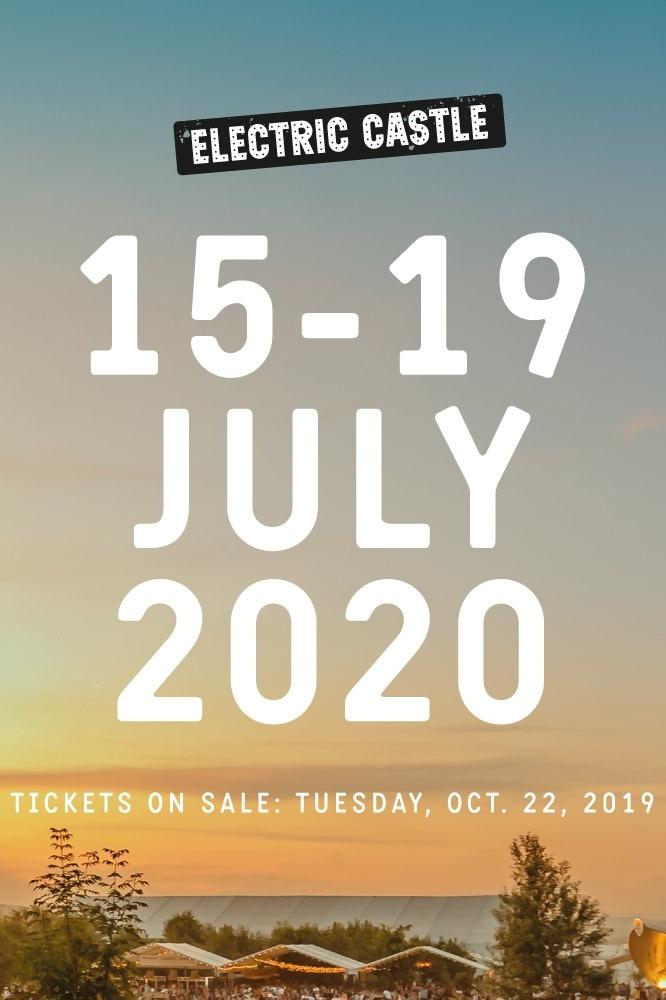 Electric Castle Festival 2020 la Castelul Banffy