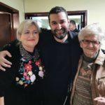 Smiley alături de mama și bunica lui (Pitești, 29 octombrie 2019)
