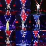 Concurenții care au întors scaunele în cel de-al cincilea episod Vocea României 2019