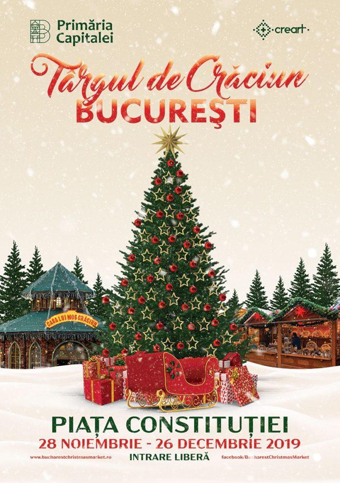 Afis Târgul de Crăciun București 2019