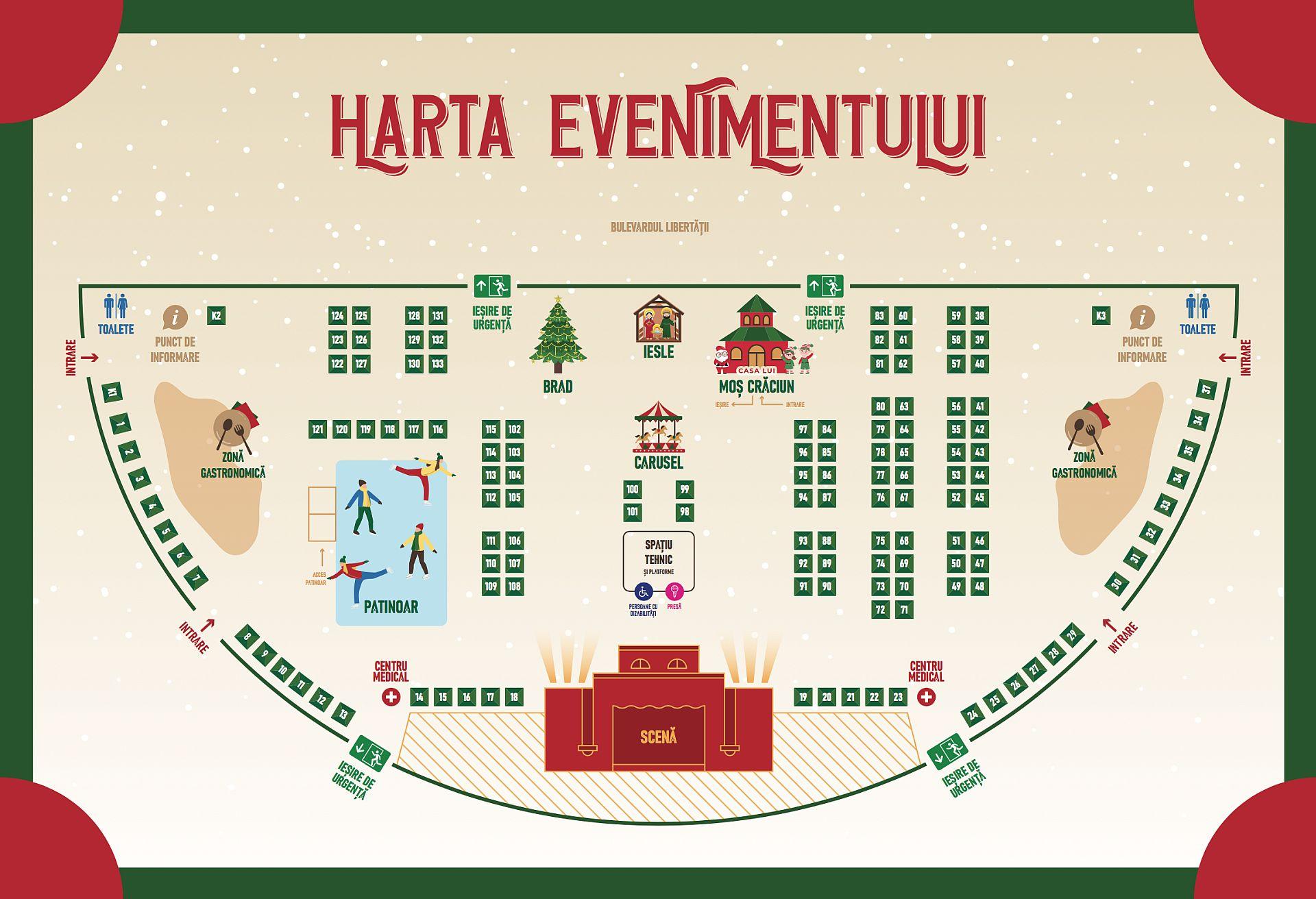 Programul Targului De Crăciun Bucuresti 2019 Si Harta
