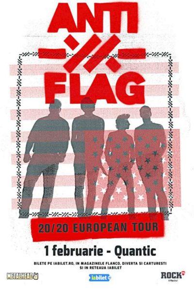 Poster eveniment Anti-Flag