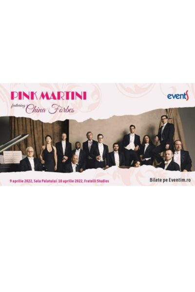Poster eveniment Pink Martini