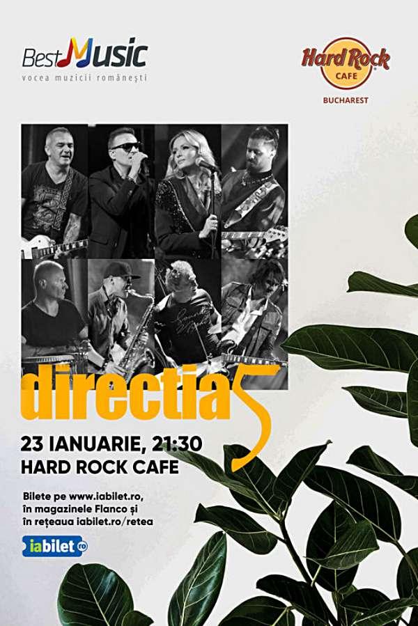 Direcția 5 la Hard Rock Cafe