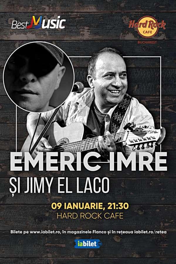 Emeric Imre la Hard Rock Cafe