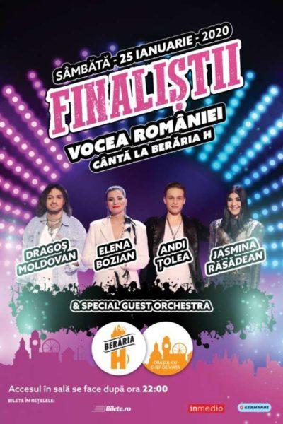 Poster eveniment Finaliștii Vocea României 2019
