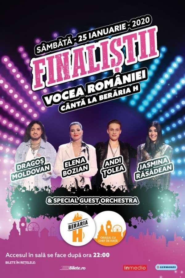 Finaliștii Vocea României 2019 la Berăria H
