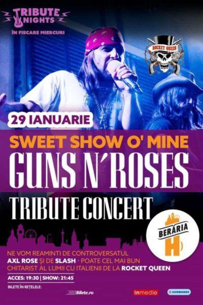 Poster eveniment Guns N\' Roses Tribute