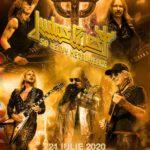 Afișul concertului Judas Priest, București, iulie 2020