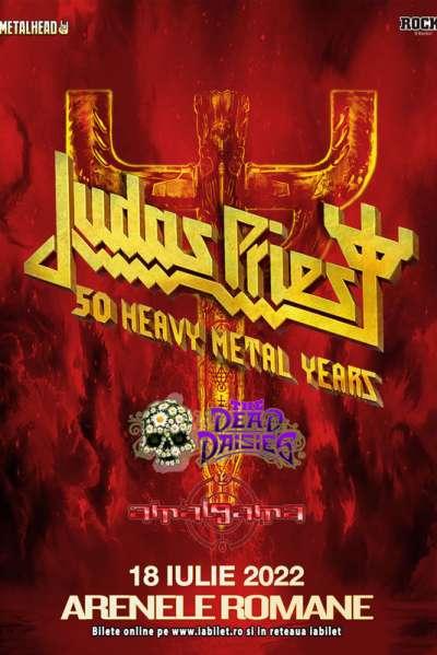 Poster eveniment Judas Priest