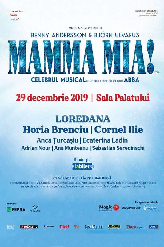 Mamma Mia la Sala Palatului