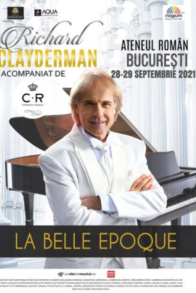 Poster eveniment Richard Clayderman - La Belle Epoque