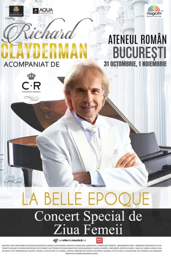 Richard Clayderman - La Belle Epoque la Ateneul Român