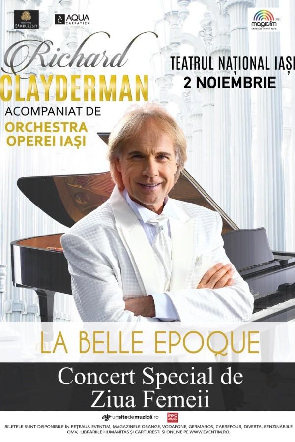 Richard Clayderman - La Belle Epoque la Teatrul Național