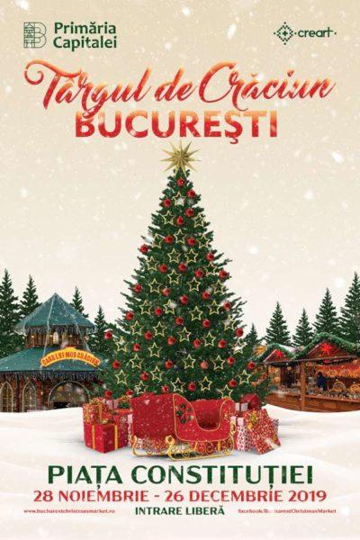 Poster eveniment Târgul de Crăciun 2019