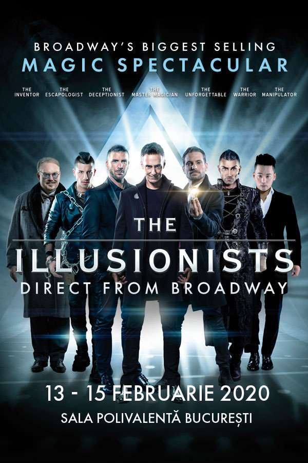 The Illusionists la Sala Polivalentă