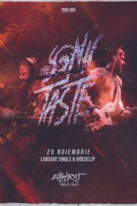 The Sonic Taste - lansare single