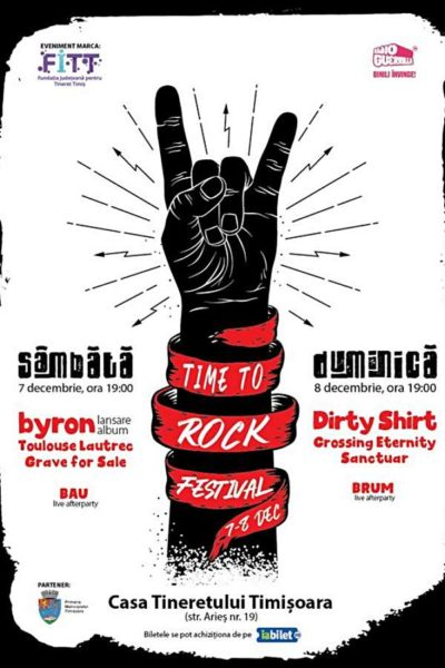 Poster eveniment Time to Rock Festival 2019