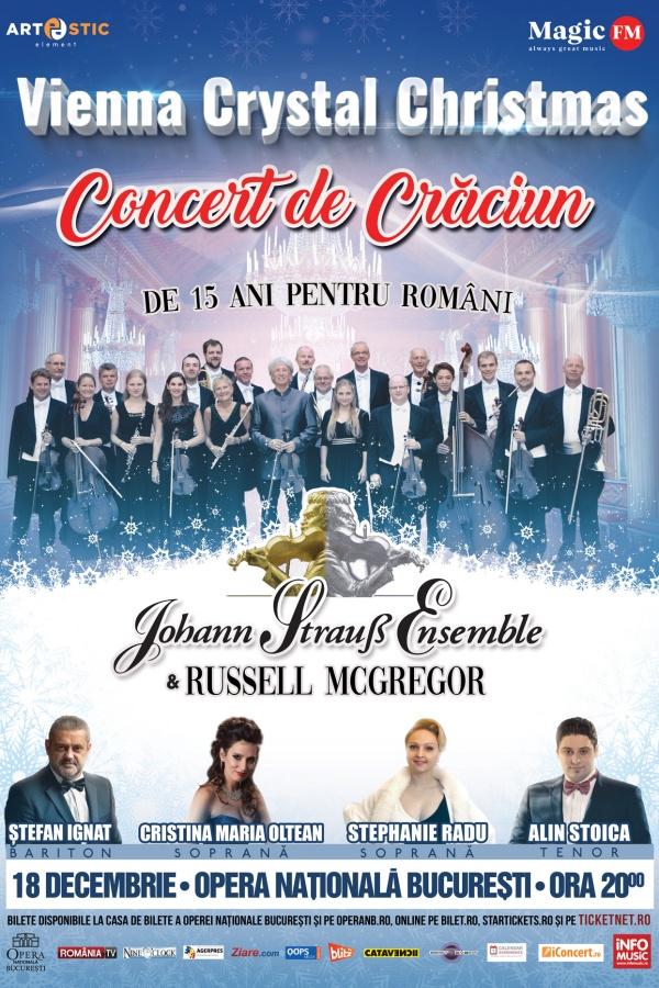 Vienna Crystal Christmas la Opera Națională București