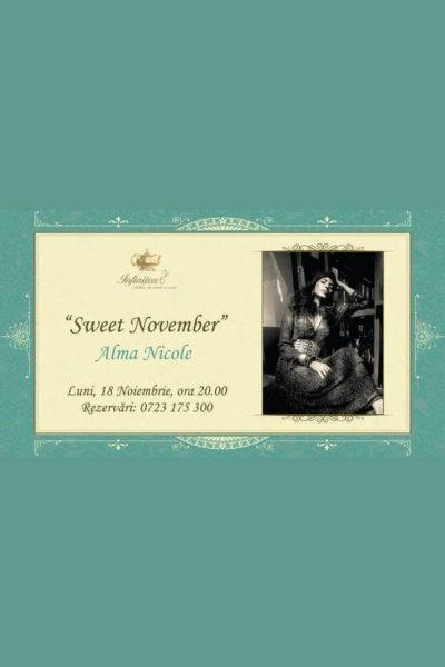 Poster eveniment Alma-Nicole - Sweet November