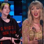 Billie Eilish / Taylor Swift @gala American Music Awards 2019 (Screenshot)