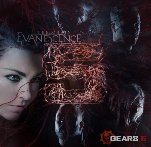 Coperta single Evanescence The Chain