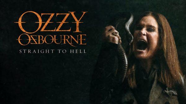 Coperta single Ozzy Osbourne Straight to Hell