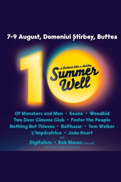 Poster eveniment Summer Well 2020