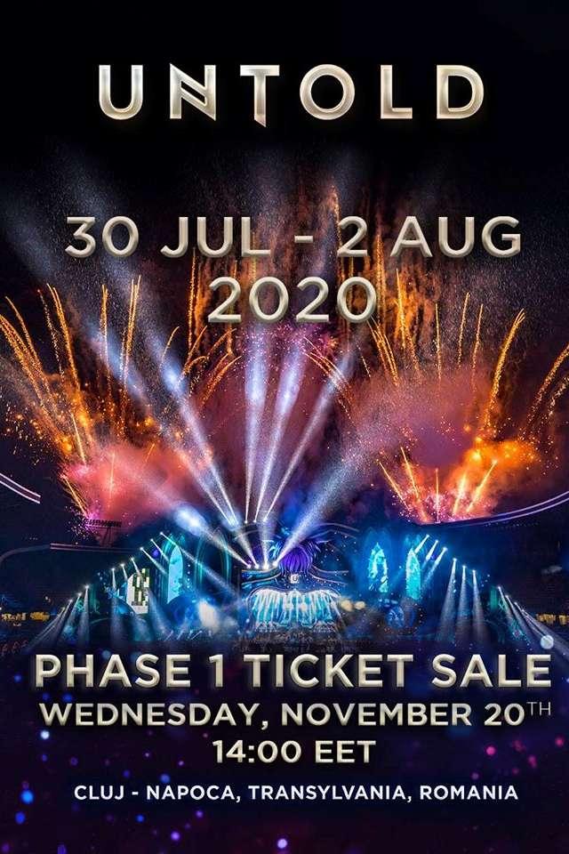 UNTOLD Festival 2020 la Cluj Arena