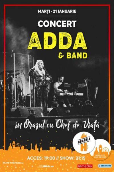 Poster eveniment ADDA
