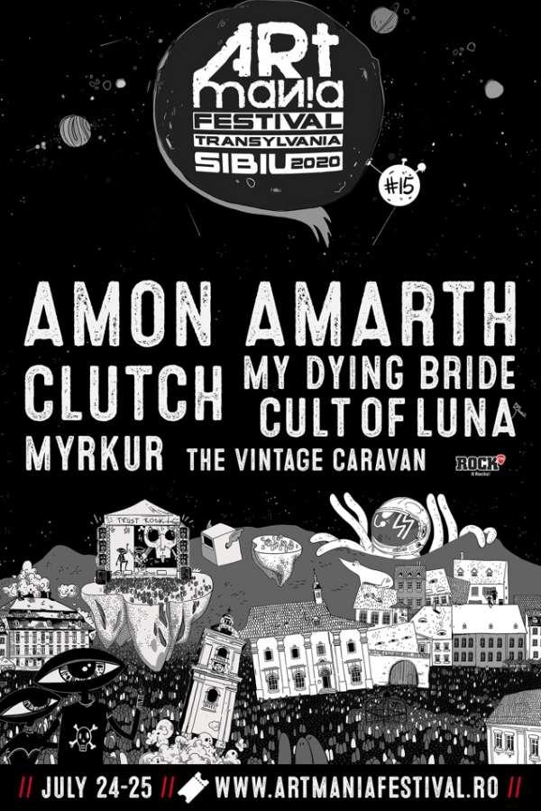 ARTmania Festival 2020 la Piața Mare din Sibiu