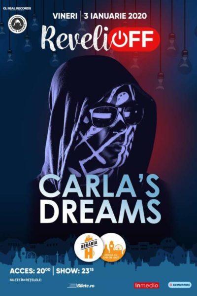 Poster eveniment Carla\'s Dreams X ReveliOFF