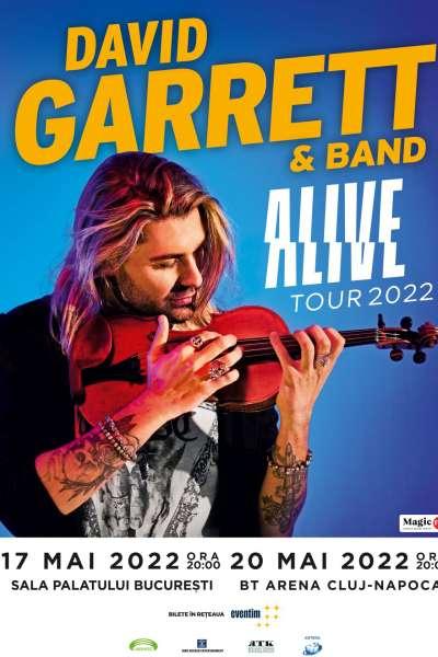 Poster eveniment David Garrett