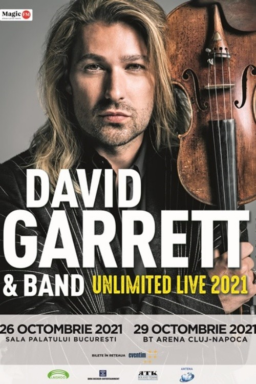 David Garrett la BT Arena (Sala Polivalentă) Cluj-Napoca