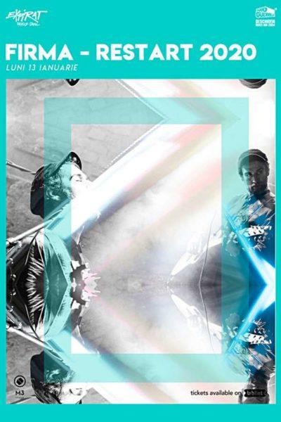 Poster eveniment FiRMA - Restart 2020