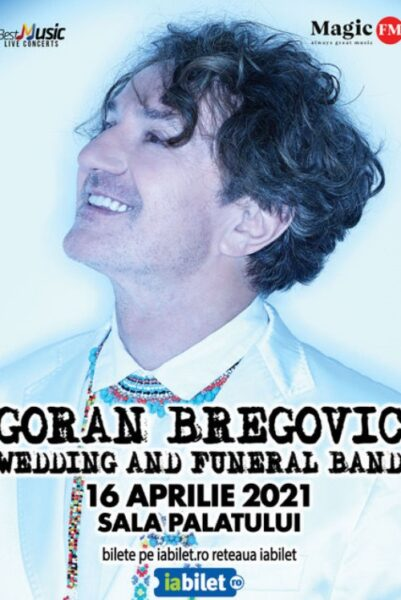 Poster eveniment Goran Bregovic & Wedding and Funeral Band