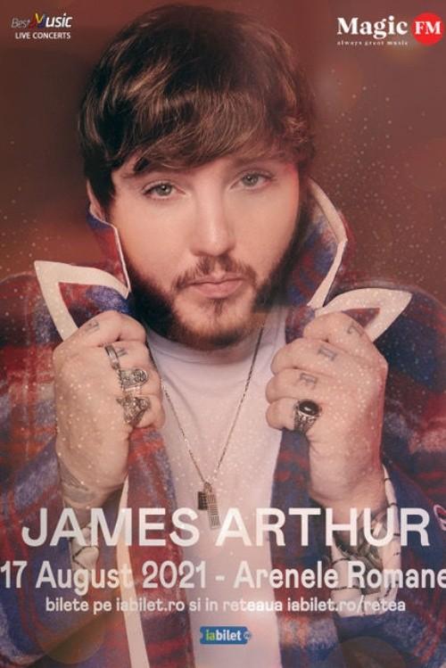 James Arthur la Arenele Romane