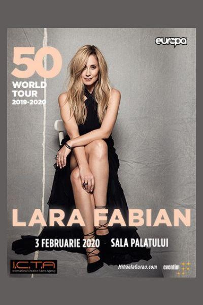 Lara Fabian la Sala Palatului