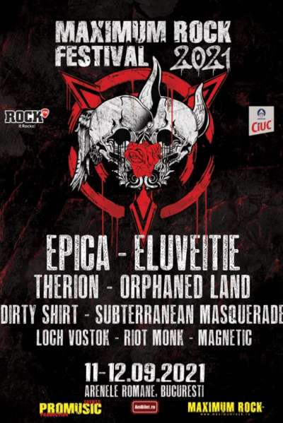Poster eveniment Maximum Rock Festival 2021